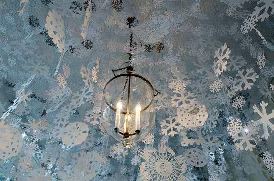 Новогодний потолок