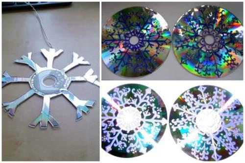 Поделки из сд-дисков