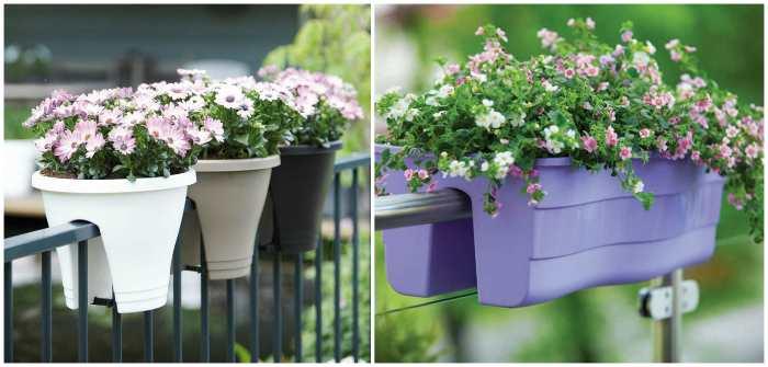 Двухсторонние ёмкости для цветов
