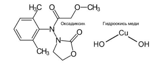 Химическая формула Оксихома
