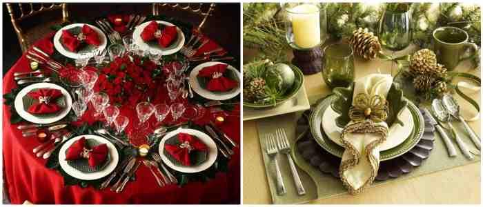 Салфетки для праздничной сервировки