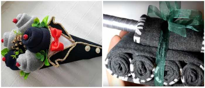 Идеи сворачивания носков