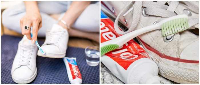 Как почистить белые кроссовки в домашних условиях