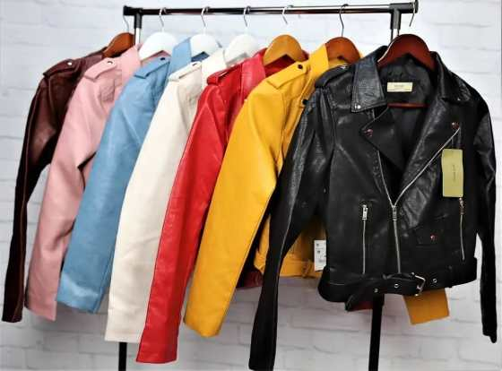 Куртки из кожи и кожзама